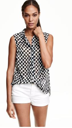 HM Sleeveless Blouse