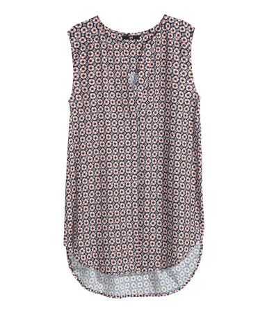 hm sleeveless-blouse