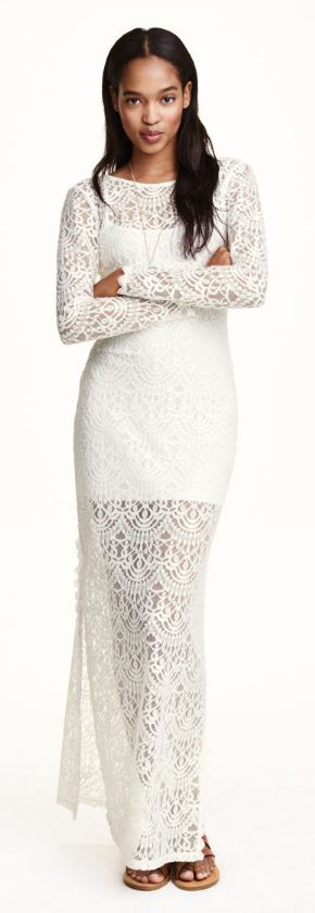 H&M Long Lace Dress