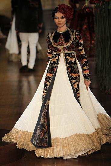 Designer: Rohit Bal Image: Sagar Ahuja/Vogue